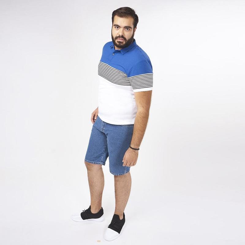 Camisa Blanca Con Detalles Multicolor 019293