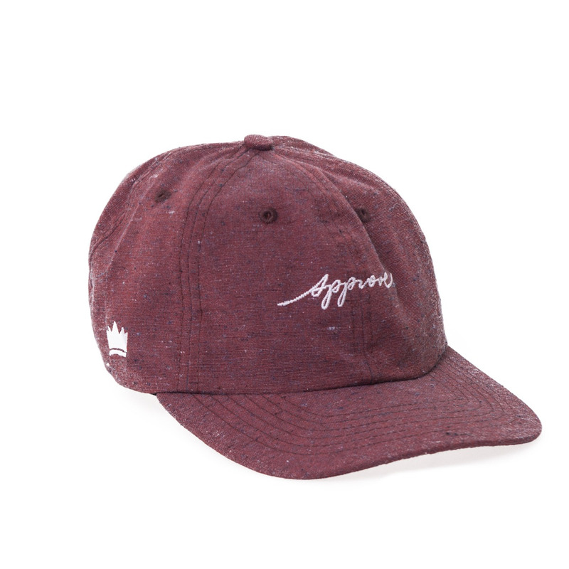 BONÉ APPROVE DAD HAT BORDÔ