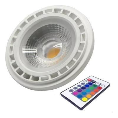 Lampara Ar111 Rgb Led Colores Deco Moderna Control Remoto