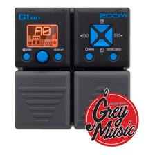 Pedalera Multi Efectos P/ Guitarra Zoom G1on - Grey Music -