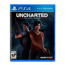 Uncharted The Lost Legacy Ps4 Fisico Sellado Nuevo Original