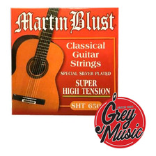 Encordado Martin Blust Sht650 Clásica Super High Tension