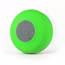 Parlante Portatil Bluetooth Ducha  Sopapa Agua Netmak Verde