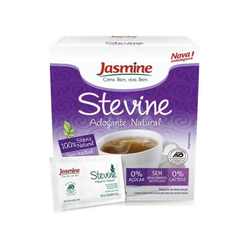 Adocante Natural Stevine em Po  50 Saches - Jasmine
