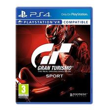 Gran Turismo Sport Gt Vr Ps4 Fisico Sellado Nuevo Original