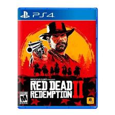 Red Dead Redemption 2 Ps4 Fisico Sellado Nuevo Original