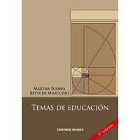 Temas de Educación