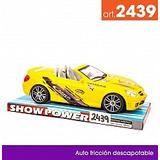 Auto Descapotable a Fricción 2439 Lyon Toys
