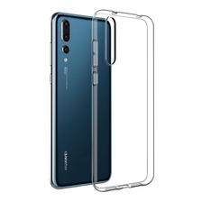 Funda Tpu Ultra Slim Huawei P20 Pro P20 + Glass 3d Curvo