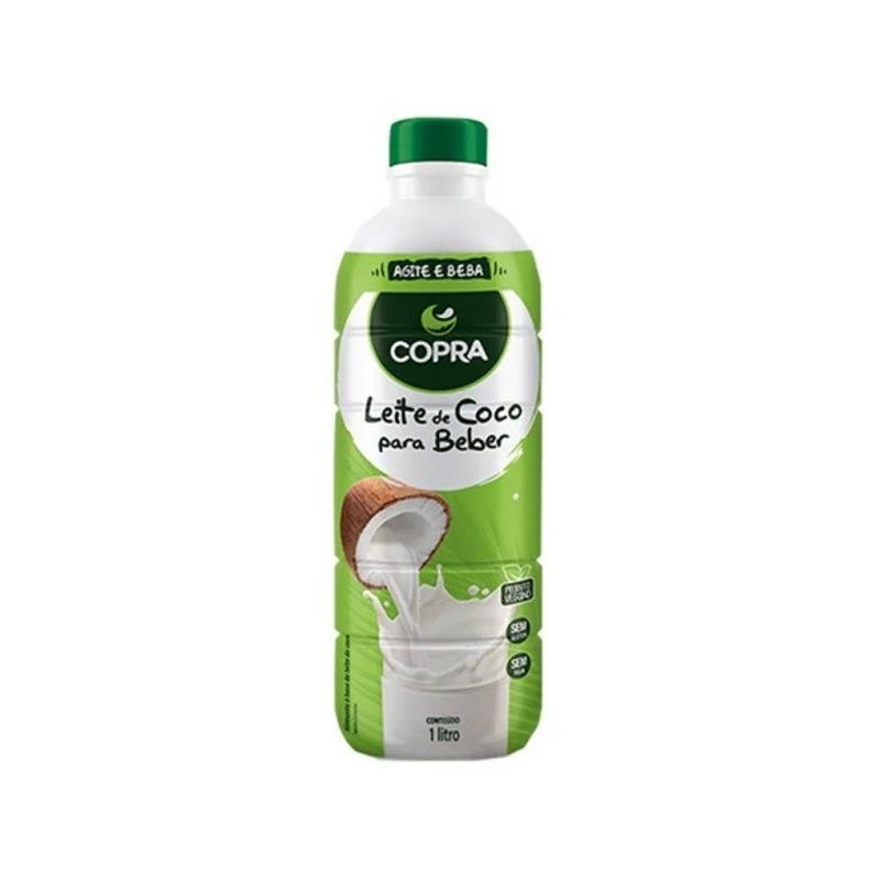 Leite de Coco Pronto para Beber - 1 Litro - Copra