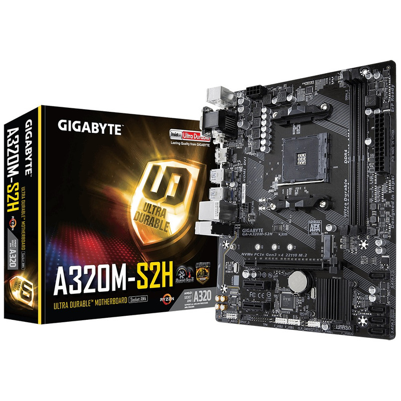 Gigabyte A320M-S2H 2 DDR4 AM4