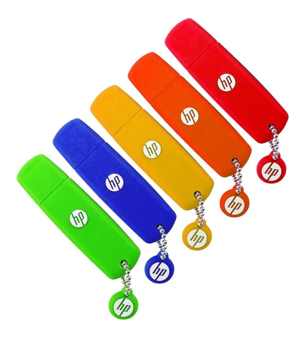 Pendrive Hp 16gb V188 Usb 2.0 Pen Drive Original Colores