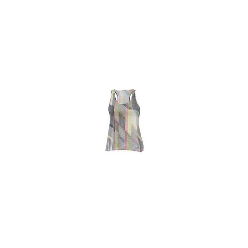 Blusa multicolor sin manga  012490