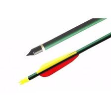 Flecha Aluminio Verde 30   2317 Pta Inter Caza Arco Arqueria