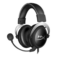 Auriculares Headset Gamer Hyperx Cloud Silver Xbox Ps4 Pc Memory Foam