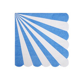Servilletas stripe Azul chicas