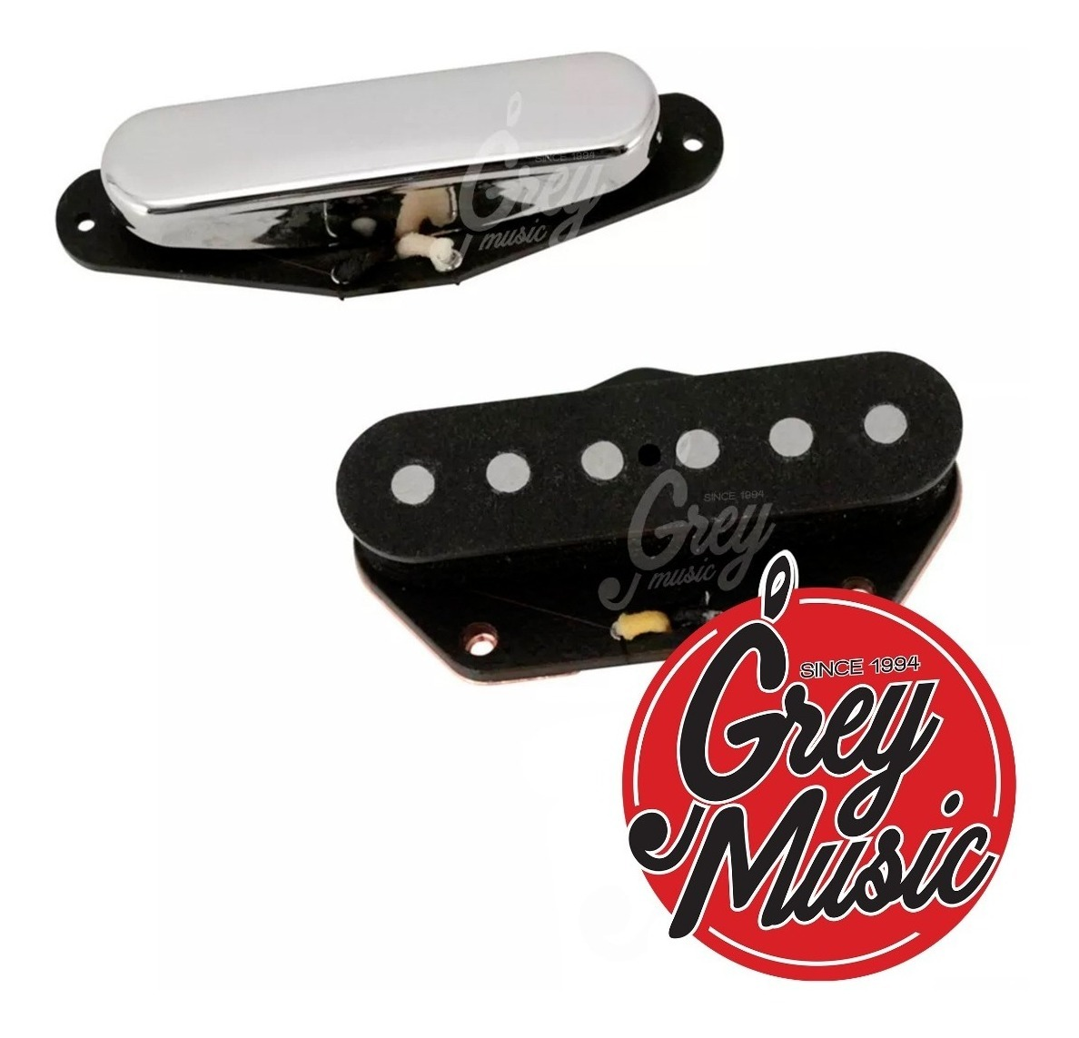 Microfonos Klein Epic Nocaster Telecaster Set Guitarra Grey