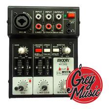 Consola Moon De 3 Canales Audio Promc302 Con Usb