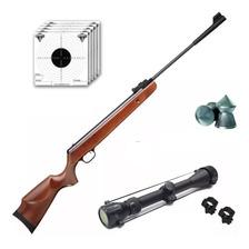 Rifle Aire Comprimido Fox Gs1250 Nitro 1105 Fps + Mira Zoom
