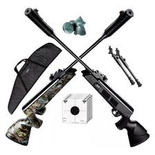 Rifle Aire Comprimido Fox Nitro Compact Piston Bipode Funda