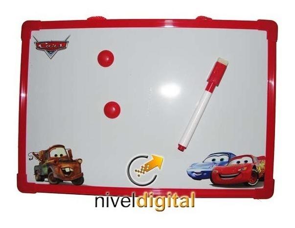 Pizarra Magnetica Abc 30x20 Fibron Mickey Cars Pooh Princesa