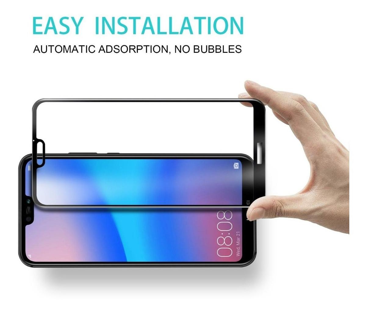 Glass Templado Huawei P20 Lite P20 Pro P20 3d Curvo + Envio