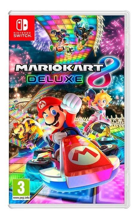 Mario Kart 8 Deluxe Nintendo Switch Fisico Sellado Original