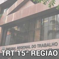 Curso Online Analista Judiciário AJ TRT 15 Direito do Trabalho 2018