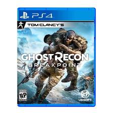 Ghost Recon Breakpoint Ps4 Fisico Sellado Nuevo Original
