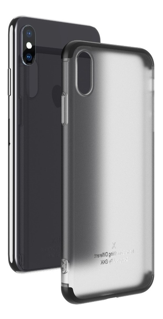FUNDA 360 LUXURY MATTE IPHONE XS MAX NEGRA