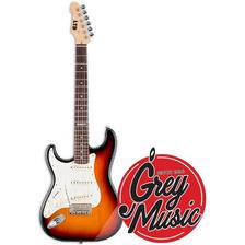 Guitarra Ltd St213lh 3 Micrófonos Simples Sunburst P/ Zurdo