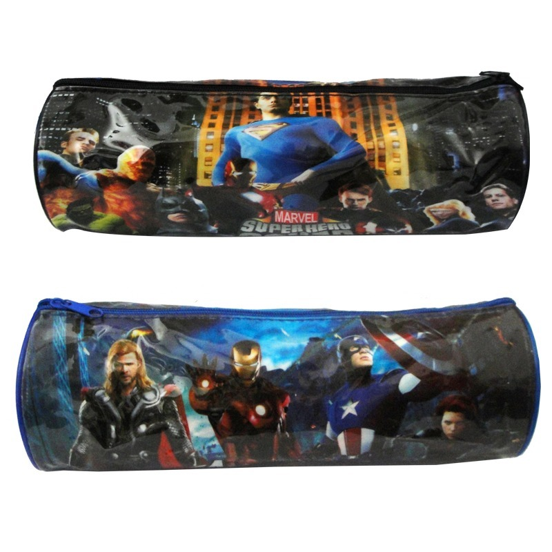 Cartuchera Tubo Escolar Avengers Superheroes Squad Marvel