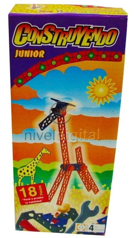 Juego De Ingenio Construyendo Junior Jirafa 18 Piezas