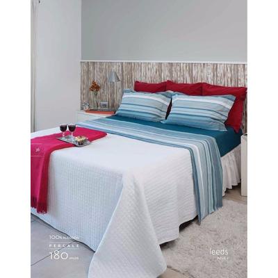 Sabanas queen size arco iris percal 180 hilos 100 algodon for Sabanas para cama queen size