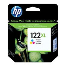 Cartucho Hp 122xl Color Original 3050 4500 2540