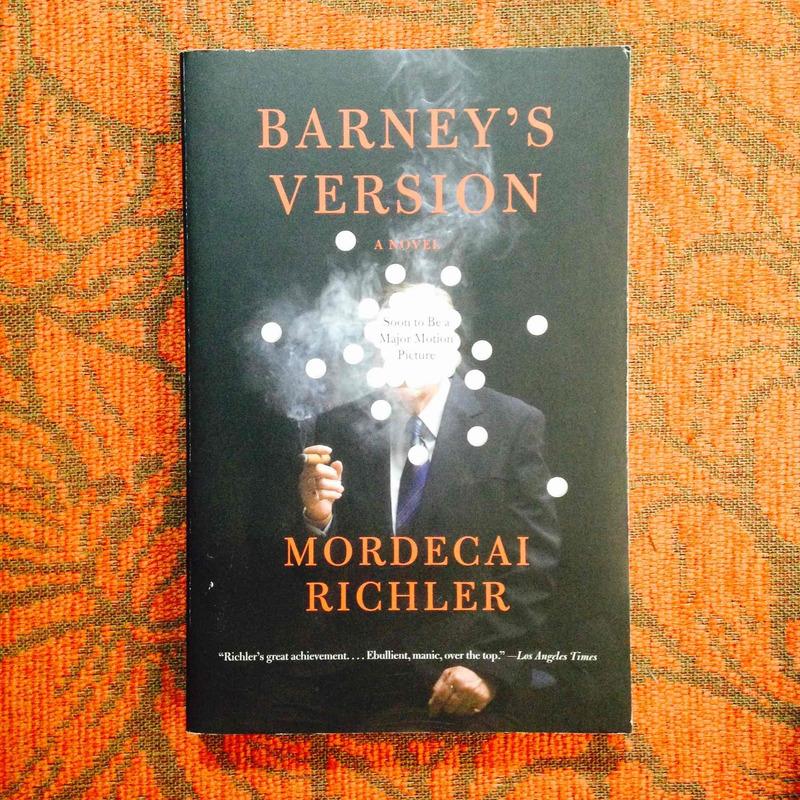 Mordecai Richler.  BARNEY'S VERSION.
