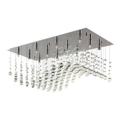 Plafon Colgante Cairel Deco Media Onda Con 12 Luces Led Incluidas