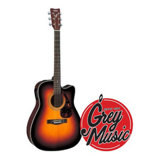 Guitarra Yamaha Electroacústica Fx 370 Ctb Serie Folk Esfuma