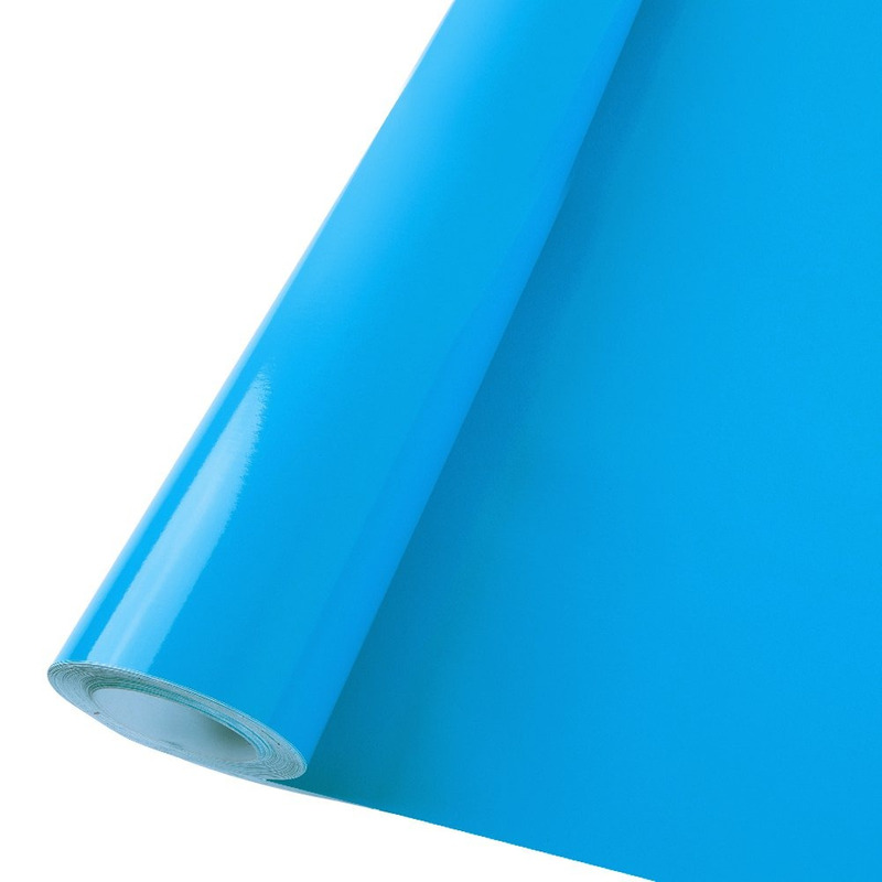Vinil adesivo colormax azul céu larg. 1,0 m