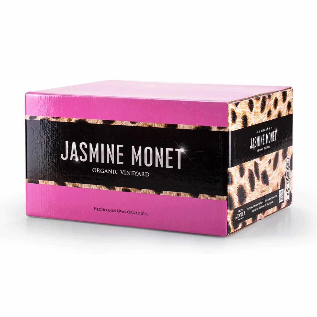 JASMINE MONET - PINK Rosé (caja X 6)