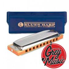 Armònica Hohner Blues Harp C/estuche En Re D - Grey Music -