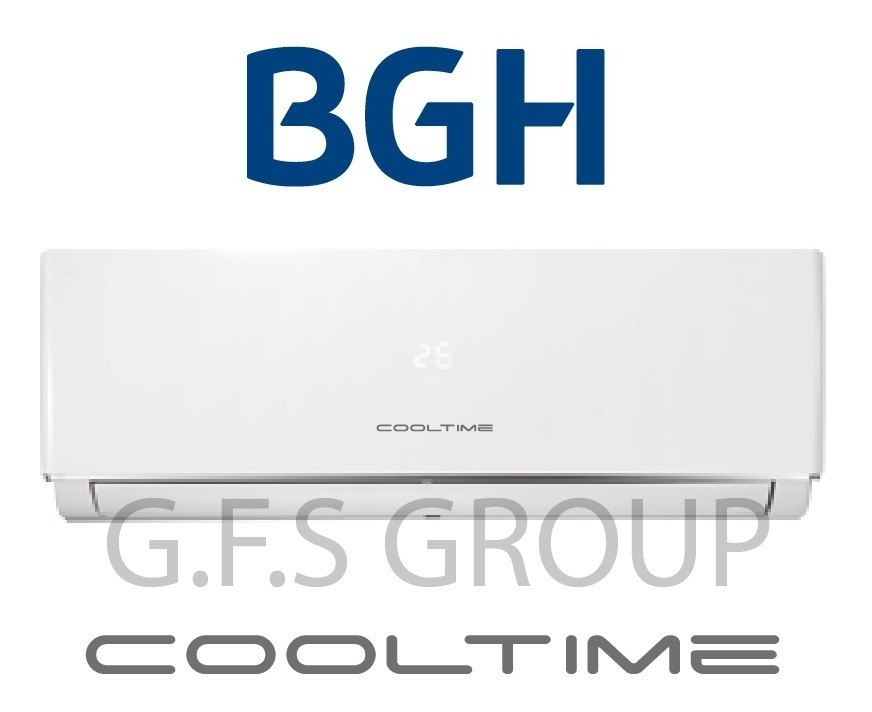 Aire Acondicionado Split Cooltime 8000 Watt Frío/calor - Bgh