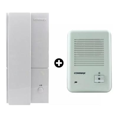 Kit Portero Electrico Commax Dp 201 La Con Abrepuertas Apl