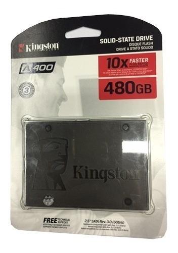 Disco Solido Kingston 480gb Ssd Ultimageneracion Ultra Speed