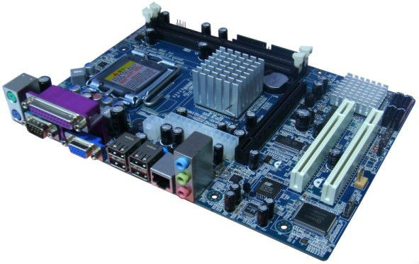Pc Cpu Dual Core Doble Nucleo Mother Gab Fte Centro Garantia