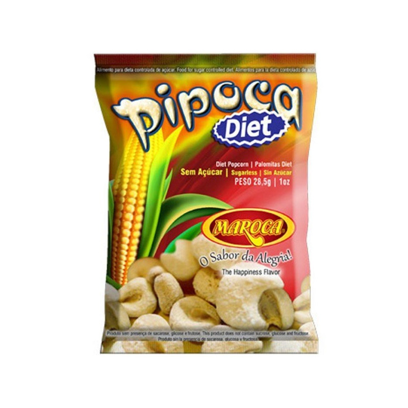 Pipoca de Milho Diet - Maroca