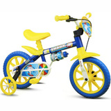 Bicicleta Infantil Aro 12 Nathor Shark 4 Masculino