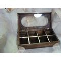 271fc2550400d AA Cuenco 9818b + la caja de té 78218 de 8 divisiones