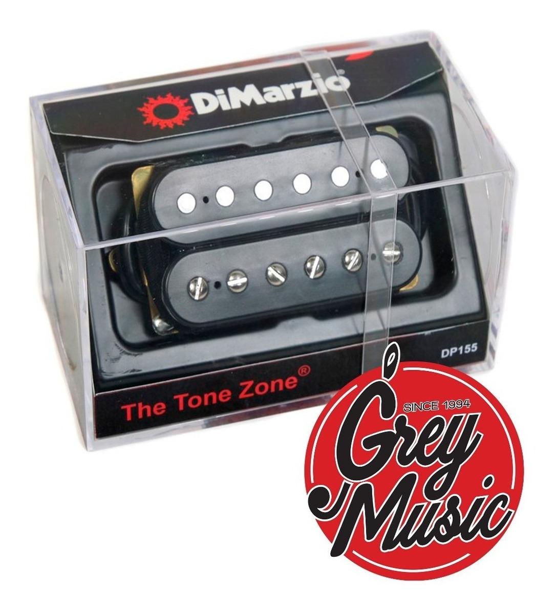 Micrófono Dimarzio Dp155-bk The Tone Zone - Grey Music
