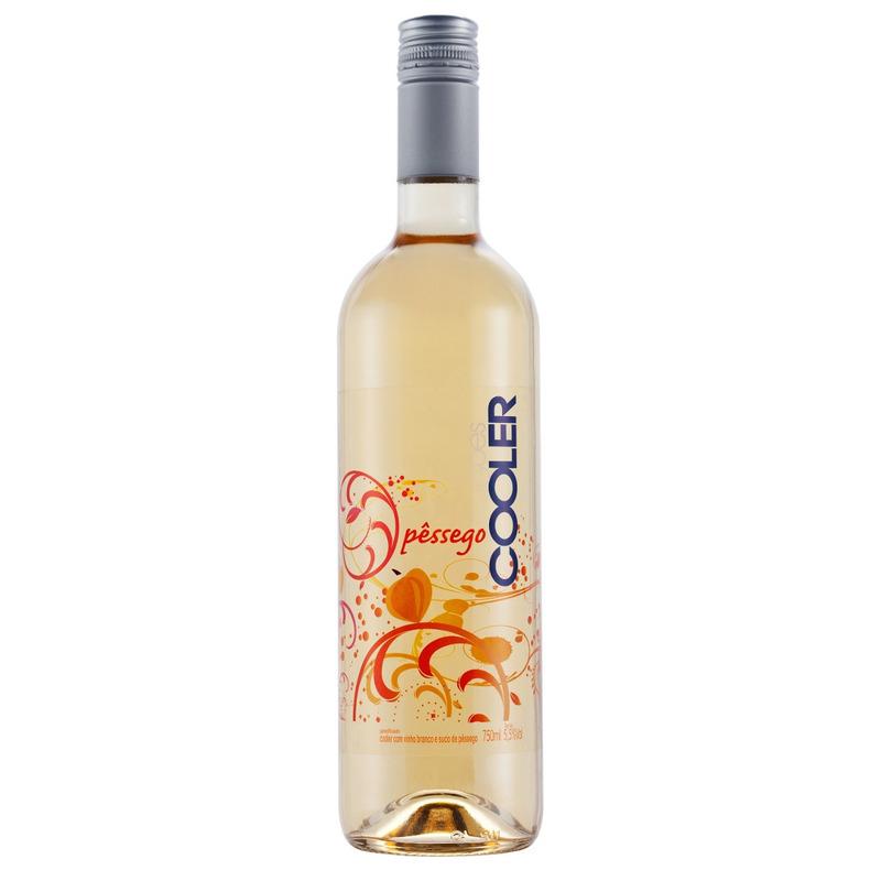 Cooler com Vinho Branco e suco de Pêssego 750ml - Góes
